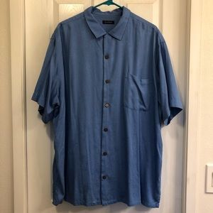 Club Room Hawaiian Button Down Shirt